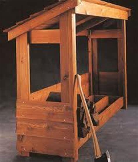 firewood storage lean    build diy