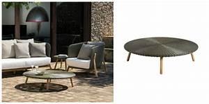 Table Basse Resine : table de jardin bois r sine tress e aluminium ~ Teatrodelosmanantiales.com Idées de Décoration