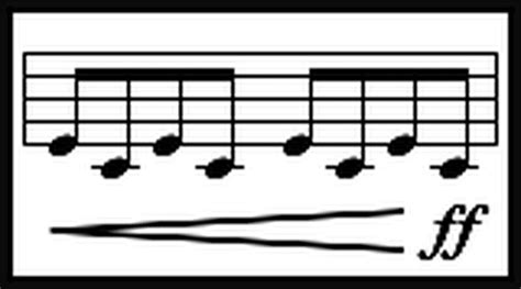 Define music terms and symbols. Crescendo - Italian Musical Terms - Definition | Crescendo, Musicals, Definitions