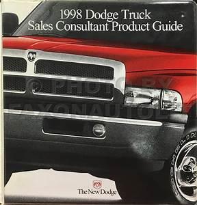 1998 Dodge Dakota Pickup Truck Original Owner U0026 39 S Manual 98