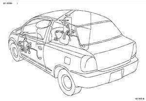 Toyota Echo Wire  Engine  Mtm  Electrical  Wiring