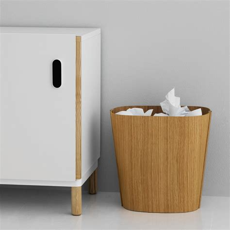 Bad Abfalleimer Design by Wooden Bin By Normann Copenhagen At The Shop