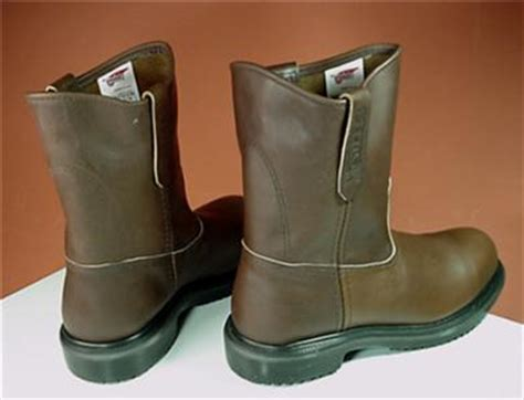 wing 8241pecos 6 5 wing pecos safety motorcycle boots sz 9 e3 mens 8241