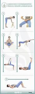Ejercicio de flexibilización de la columna lumbar para el lumbago o lumbalgia Fisioterapia Online