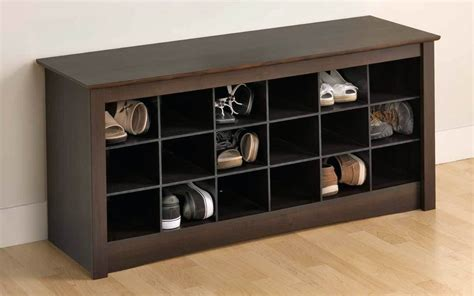 Small Entryway Shoe Storage Cubbies