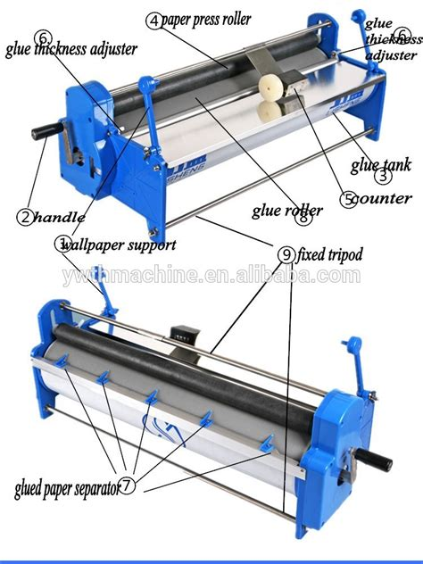 manual hand wall paper roller glue spreading machine buy manual wall paper glue spreading