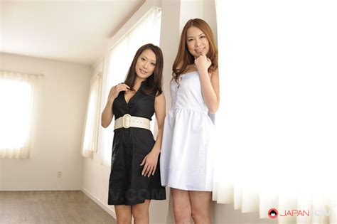 Kai Miharu And Yanagida Yayoi Showing Off