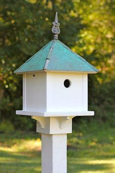 install  birdhouse   post diycourage pretty handy girl birdhouses posts  anchors
