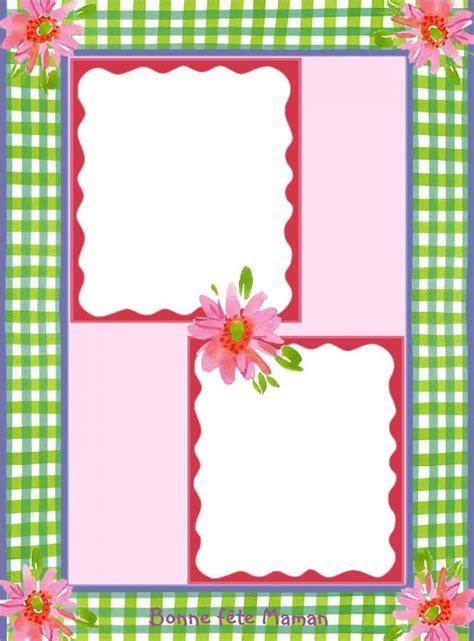 cadre photo a imprimer gratuitement joli porte photo scrapbook gratuit 224 imprimer pour la f 234 te des m 232 res