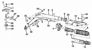 Johnson Steering Handle  U0026 Throttle Control Parts For 1986