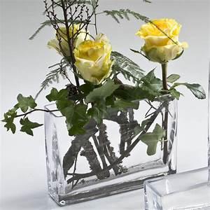 Glasvase 50 Cm Hoch : glasvase block glas vase tischvase blumenvase dekovase rechteckig 15 cm hoch ebay ~ Bigdaddyawards.com Haus und Dekorationen