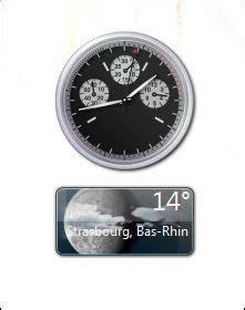 afficher l horloge sur le bureau windows 7 afficher vos gadgets sur windows 7 astuces pratiques