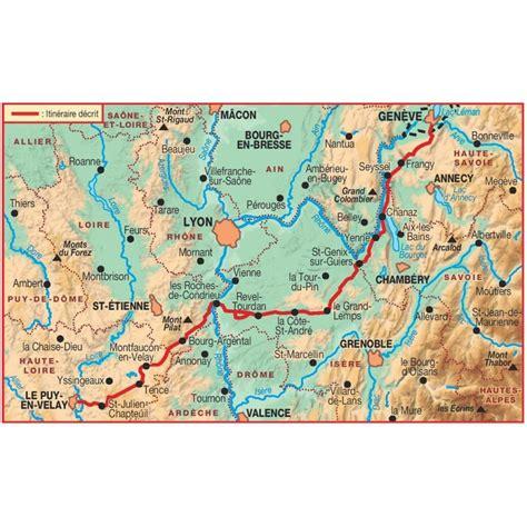 Chemin De St Jacques De Compostelle Carte Suisse by Achat Sentier Vers Jacques De Compostelle 232 Ve