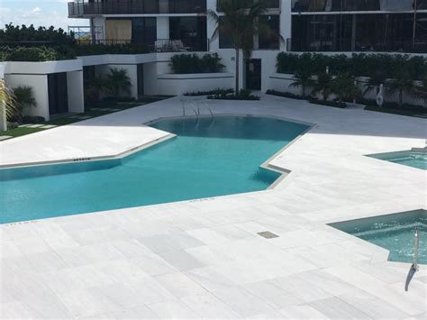 coral stone tiles pool decks  stone pavers