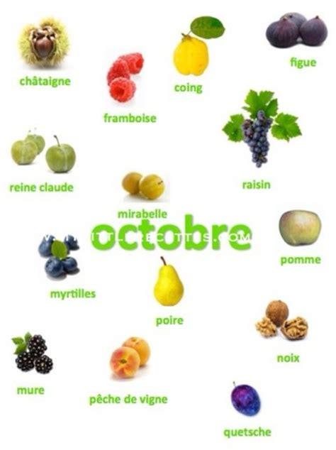 produits frais et de saison octobre my recettes