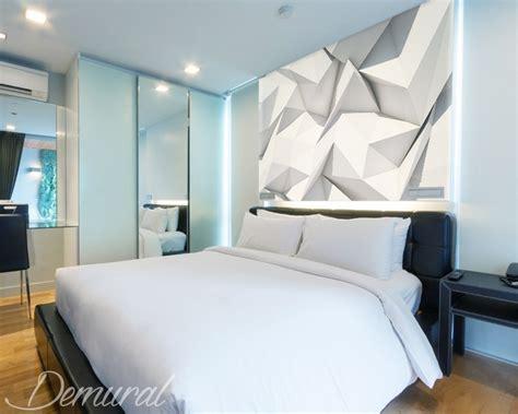 Murales Da Letto - origami della da letto carta da parati fotomurali