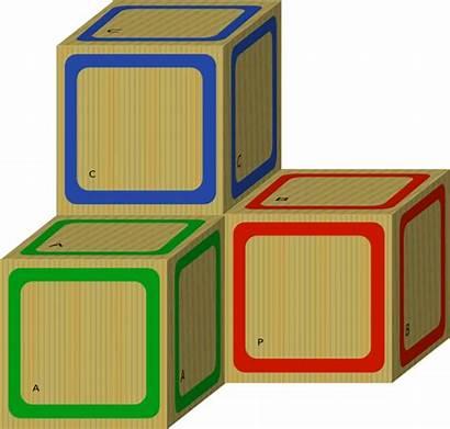 Blocks Clipart Plain Block Clip Letters Abc