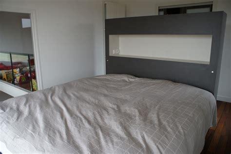 faire housse canapé tete de lit placo