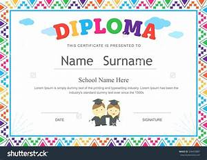 template pre k award certificate template With pre k award certificate templates