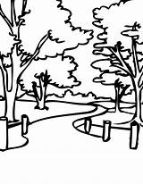 Coloring Park Pages Colouring Bench Printable Neighborhood Thank Cartoon Getcolorings Handipoints Re Sheets Visiting Getdrawings Facts Fun National Popular 1275 sketch template