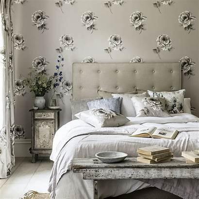 Sanderson Rosa Waterperry Wallpapers Tapet Rose Bedroom