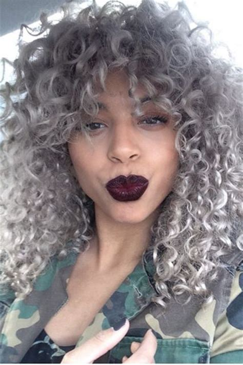25 New Grey Hair Color Combinations For Black Women The