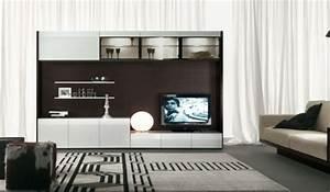 Meuble Tv Original : quel meuble t l pour le salon contemporain ~ Teatrodelosmanantiales.com Idées de Décoration