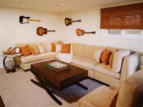 Design Behind The Living Room Sofa Hgtv