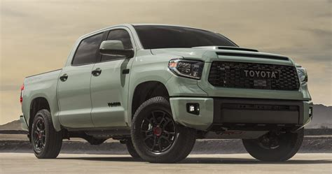 Seatbelts should be worn at all times. 2021 Toyota Tundra Features Two Special Editions, New Color