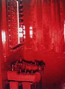 lipstick bathroom womanhouse debauchery pinterest With judy chicago menstruation bathroom