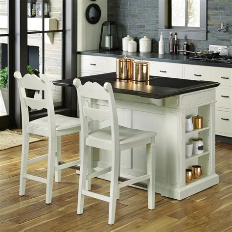 home styles fiesta weathered white kitchen island