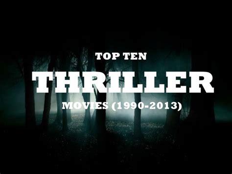 Best Thriller 2013 Top Ten Thriller 1990 2013