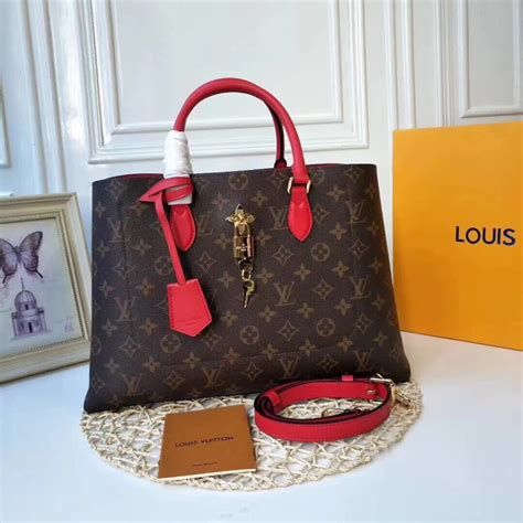 louis vuitton monogram canvas flower tote noir