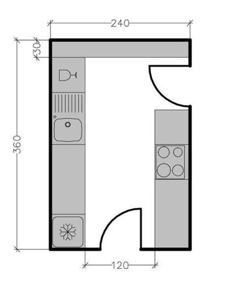 cuisine 8m2 13 plans pour une cuisine fermée de 3 à 9 m2 côté maison