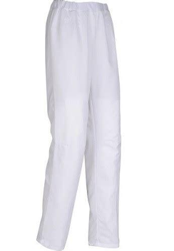 pantalon de cuisine pantalon de cuisine femme rosace blanc