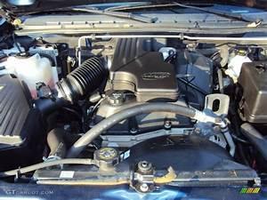 2004 Chevrolet Colorado Extended Cab 2 8 Liter Dohc 16v Vortec 4 Cylinder Engine Photo  57885736