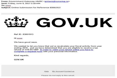 report a company to hmrc phishing emails and bogus contact hm revenue and customs