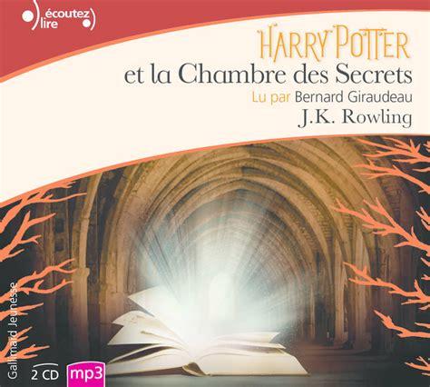 Livre Audio Harry Potter Et La Chambre Des Secrets Cd