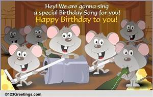 A Special Birthday Song Free Songs Ecards Greeting Cards