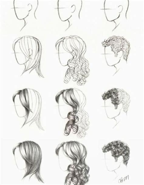 draw hair    hair drawing stuff