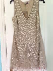 flapper bridesmaid dress 1920s vintage gold beaded gatsby flapper wedding bridesmaid dress uk size 12 flappers flapper