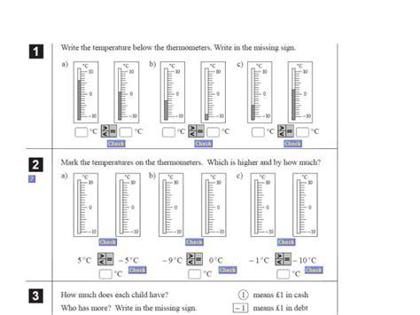 5th grade math worksheets negative numbers math adding