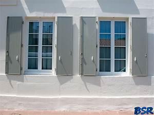 Volets En Aluminium : les portes et fen tres en pvc de bsr bourguignon serrurerie rochefort ~ Melissatoandfro.com Idées de Décoration