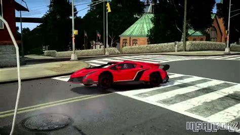 Grand Theft Auto Iv 2013 Lamborghini Veneno Crash Testing