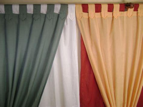 cortinas en tela panama variedad de colores