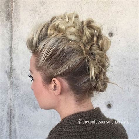 Mohawk Updo Hairstyles by Statement Mohawk Hairstyles 2015 Hairstyles 2017 Hair