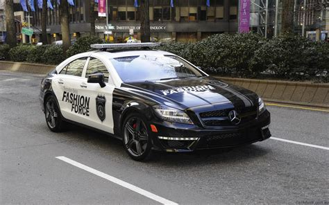Mercedes BenzCar : 2012 Mercedes-benz Cls63 Fashion Force Patrol Car
