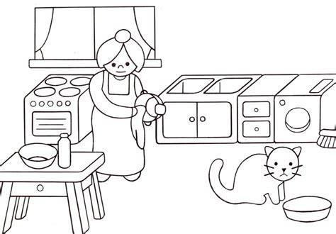 dessin pour cuisine nos jeux de coloriage cuisine à imprimer gratuit