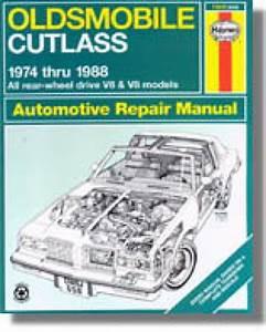 Oldsmobile Cutlass Auto Repair Manual 1974