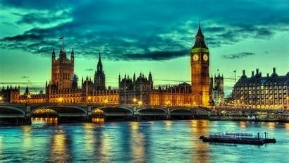London England Ben Bridge Cloud Hdr Background